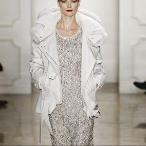 Iconic FW2011 Altuzarra White Parka With Fox Fur